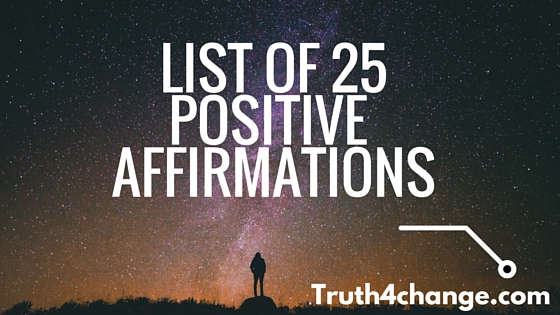 List of daily positive affirmations (1)